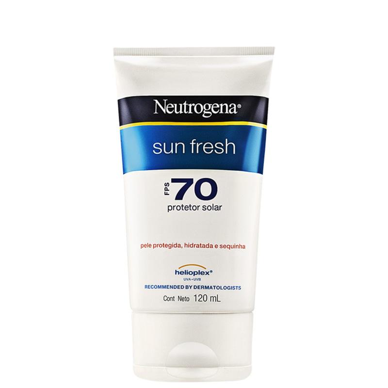 Neutrogena Sun Fresh FPS 70 - Protetor Solar 120ml