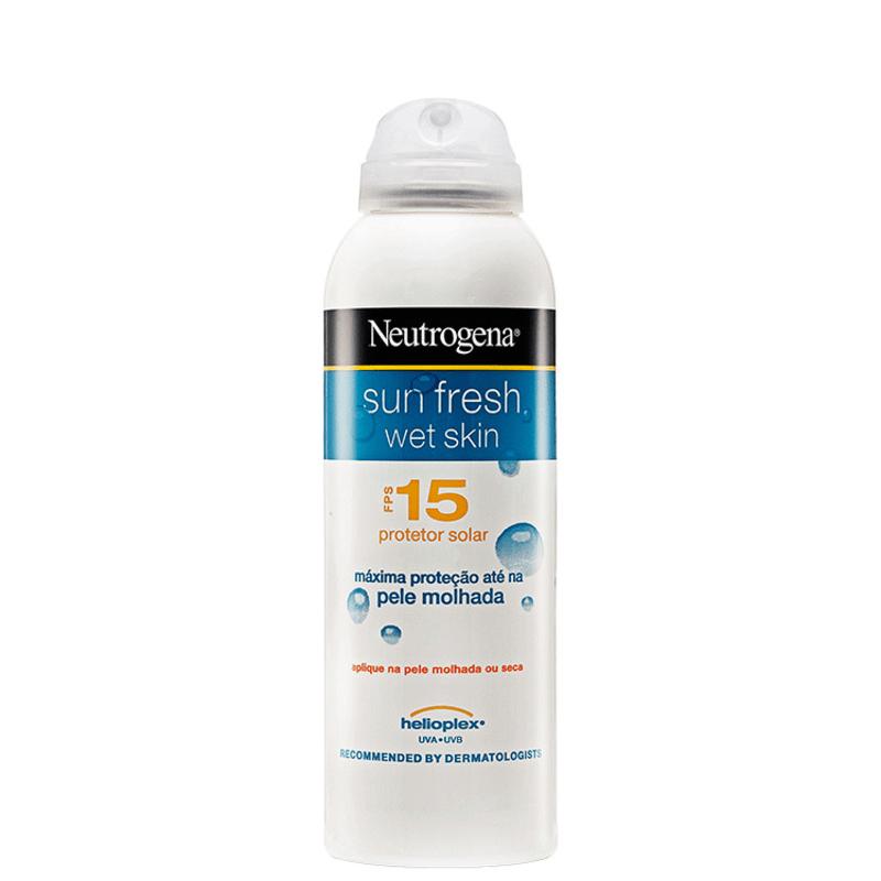 Neutrogena Sun Fresh Wet Skin FPS 15 - Protetor Solar 180ml