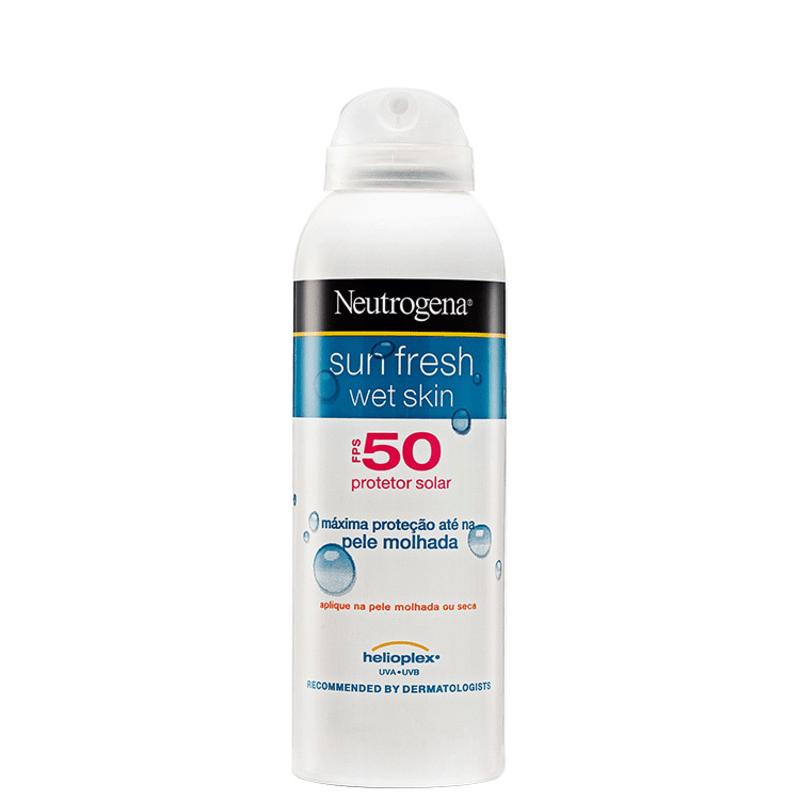 Neutrogena Sun Fresh Wet Skin FPS 50 - Protetor Solar 180ml