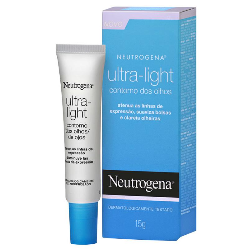 Neutrogena Ultra-Light - Creme para Área dos Olhos 15g