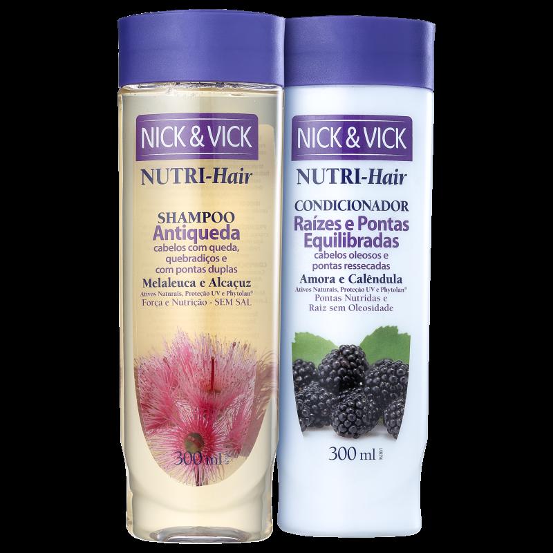 Kit Nick & Vick NUTRI-Hair Cabelos Fortes (2 Produtos)