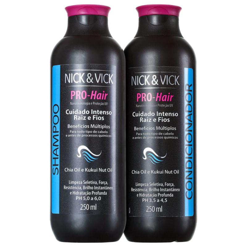 Nick & Vick PRO-Hair Cuidado Intenso Raiz e Fios - Shampoo 250ml