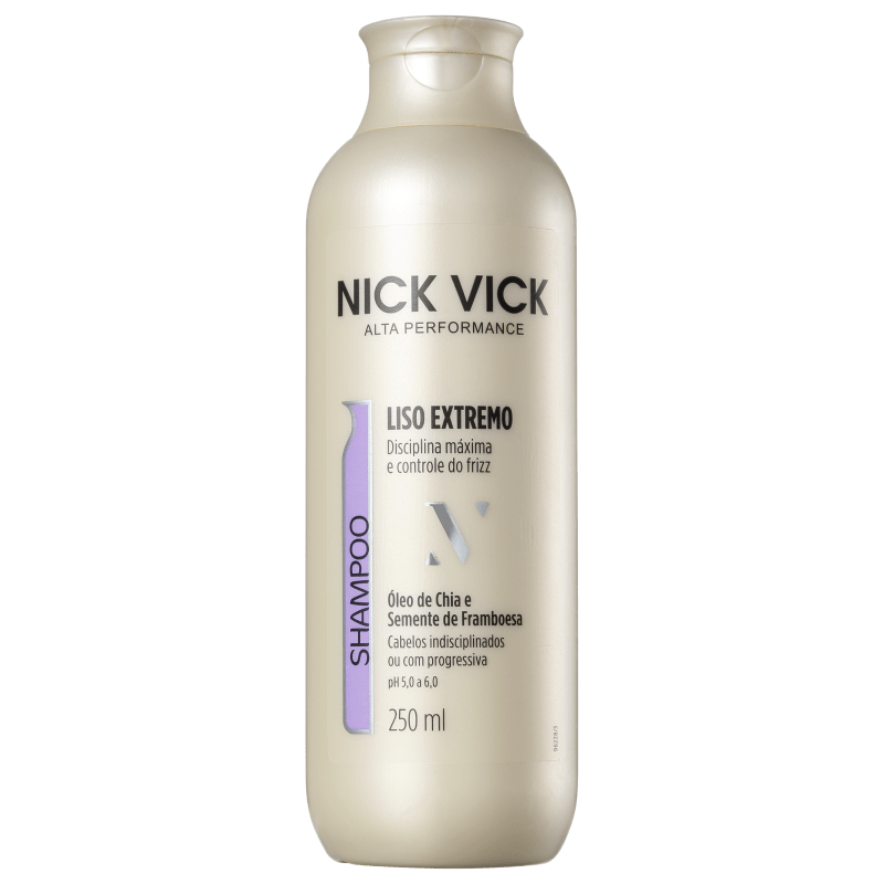 Nick & Vick PRO-Hair Liso Extremo - Shampoo 250ml