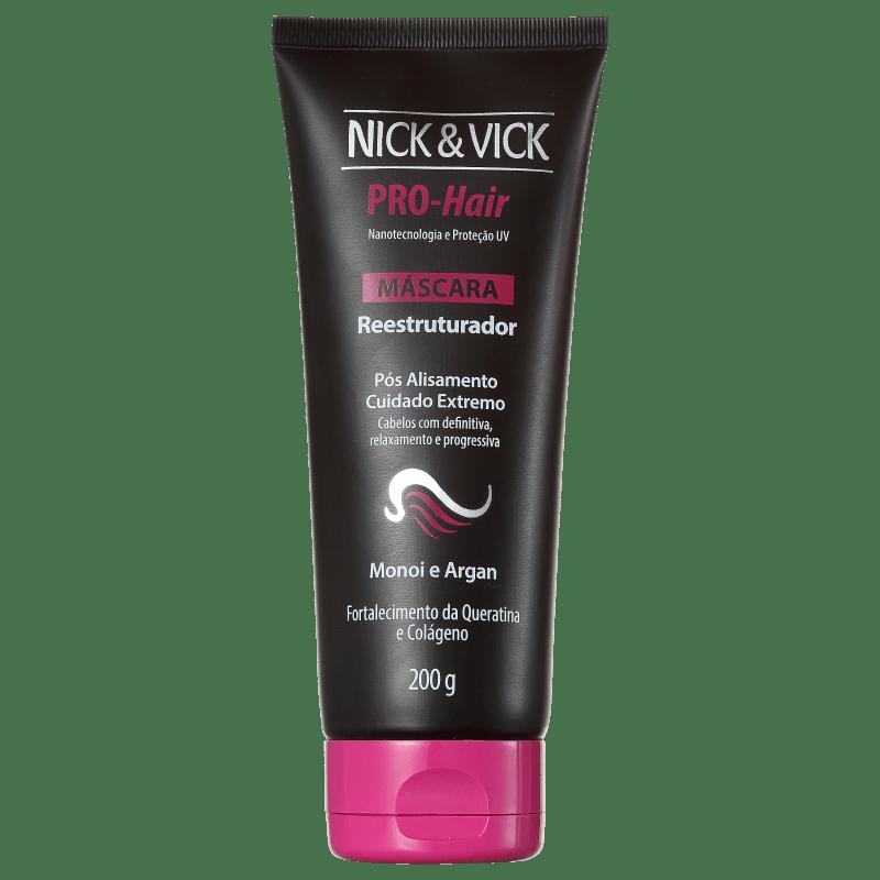 Nick & Vick PRO-Hair Reestruturador - Máscara Capilar 200g