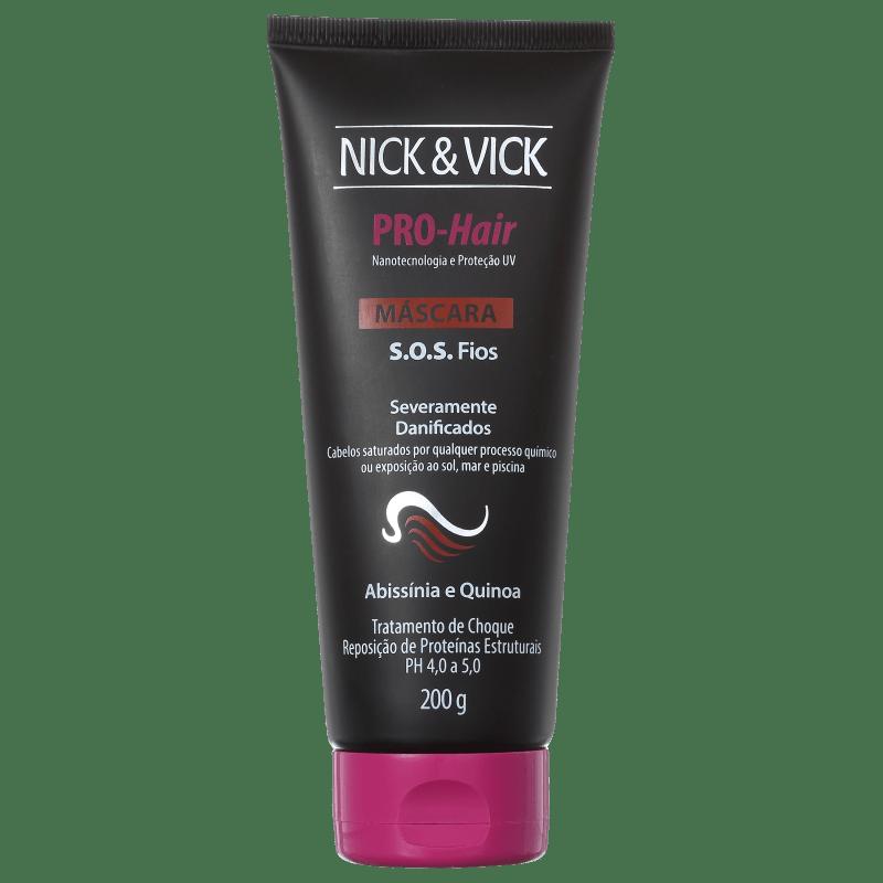 Nick & Vick PRO-Hair S.O.S Fios - Máscara de Tratamento 200g