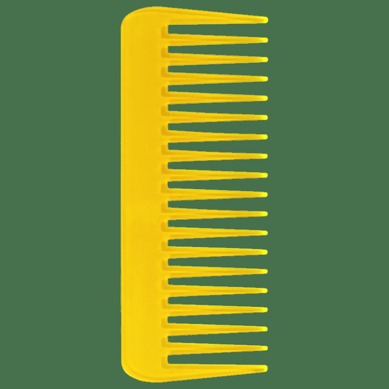 Océane Color Comb Wide Amarelo - Pente