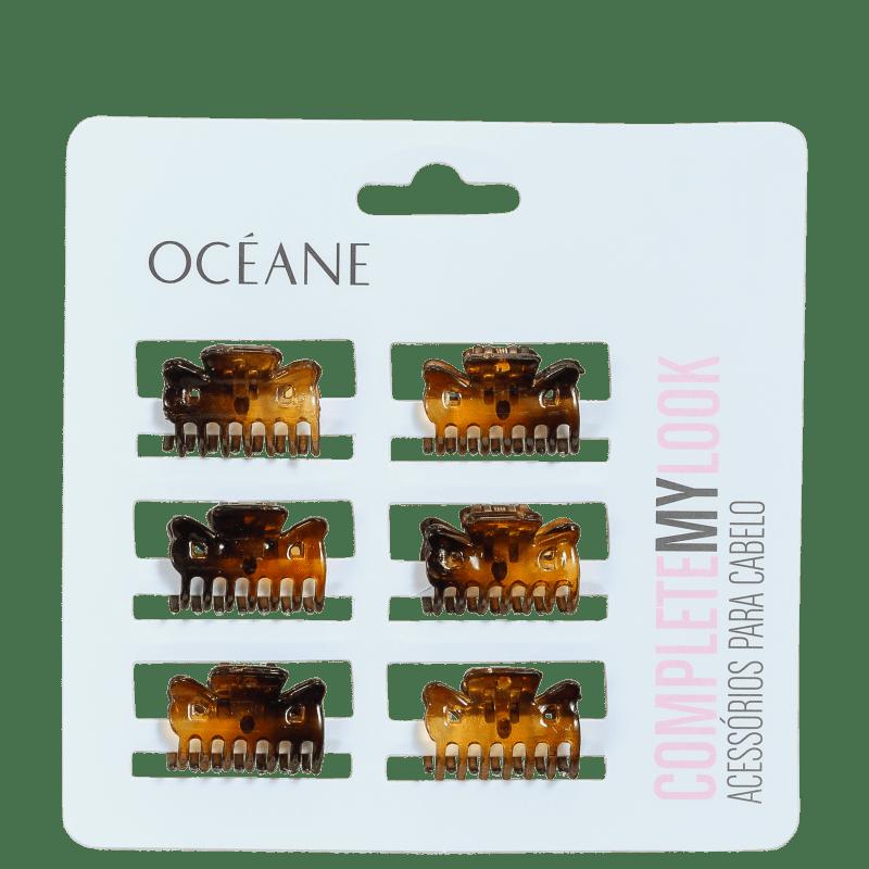 Océane Femme Complete My Look 152 Turtle Shell - Mini Prendedores de Cabelo