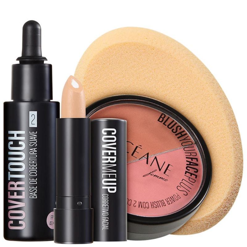 Kit Océane Femme Cover Face (4 produtos)