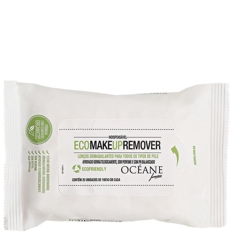 Océane Femme Eco Make Up Remover - Lenço Demaquilante (20unidades)
