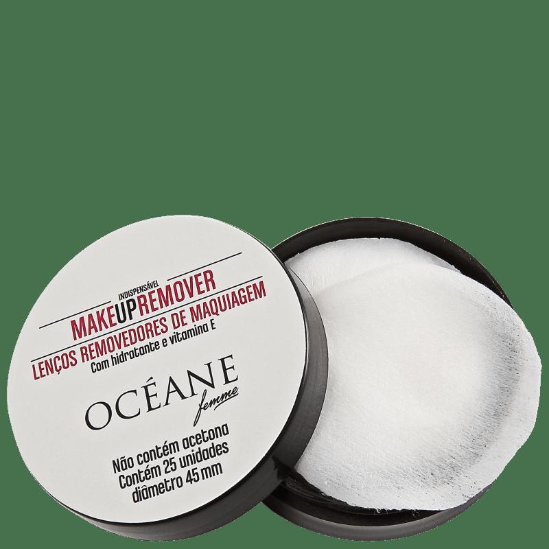 Océane Femme Make Up Remover - Lenço Demaquilante (25 unidades)