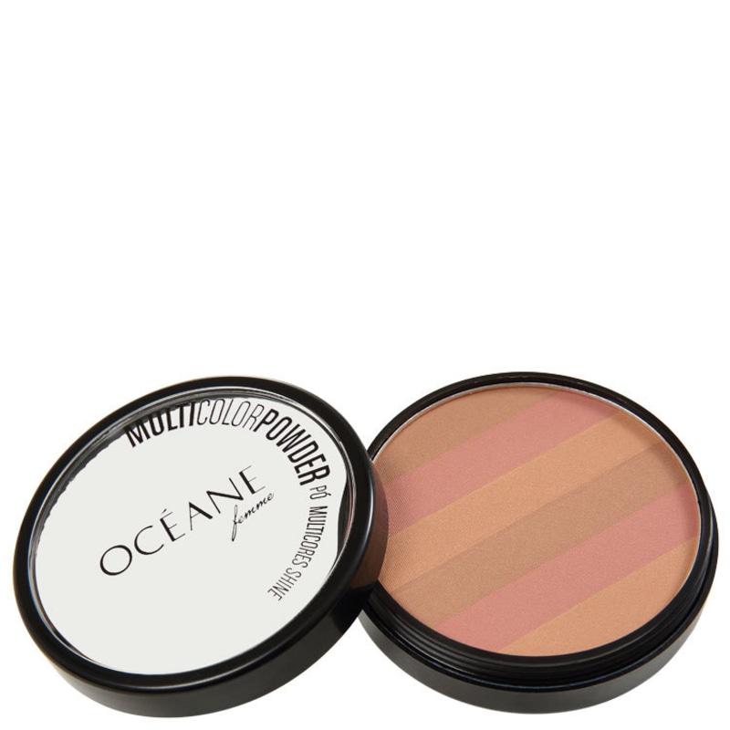 Océane Femme Multicolor Powder Bronzer - Pó 3 em 1 7,2g