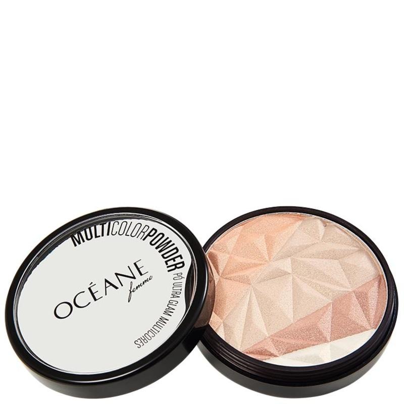 Océane Femme Multicolor Powder Ultra Glam - Pó 3 em 1 9,5g