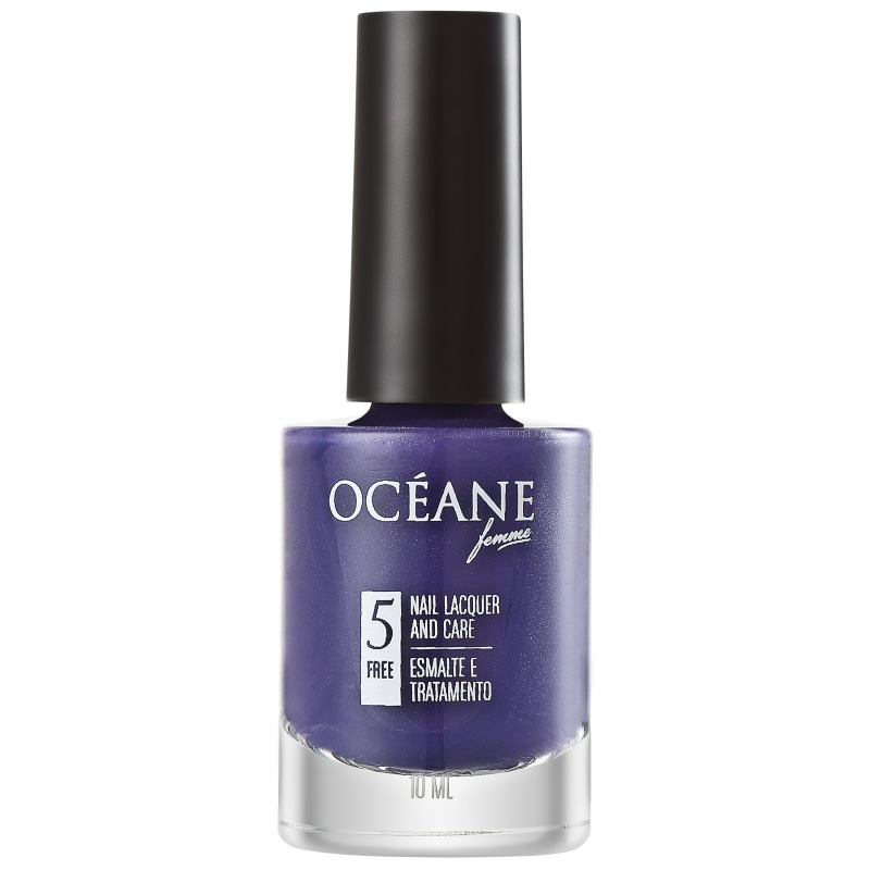 Océane Femme Nail Lacquer And Care Bordeaux - Esmalte Perolado 10ml