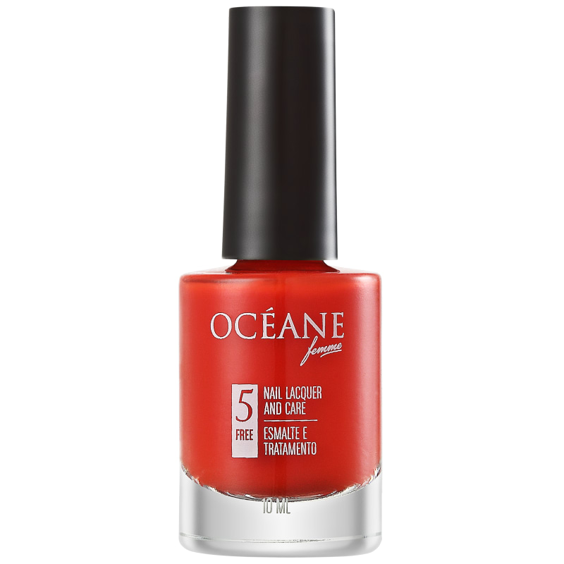 Océane Femme Nail Lacquer And Care Fire Trap - Esmalte Cremoso 10ml