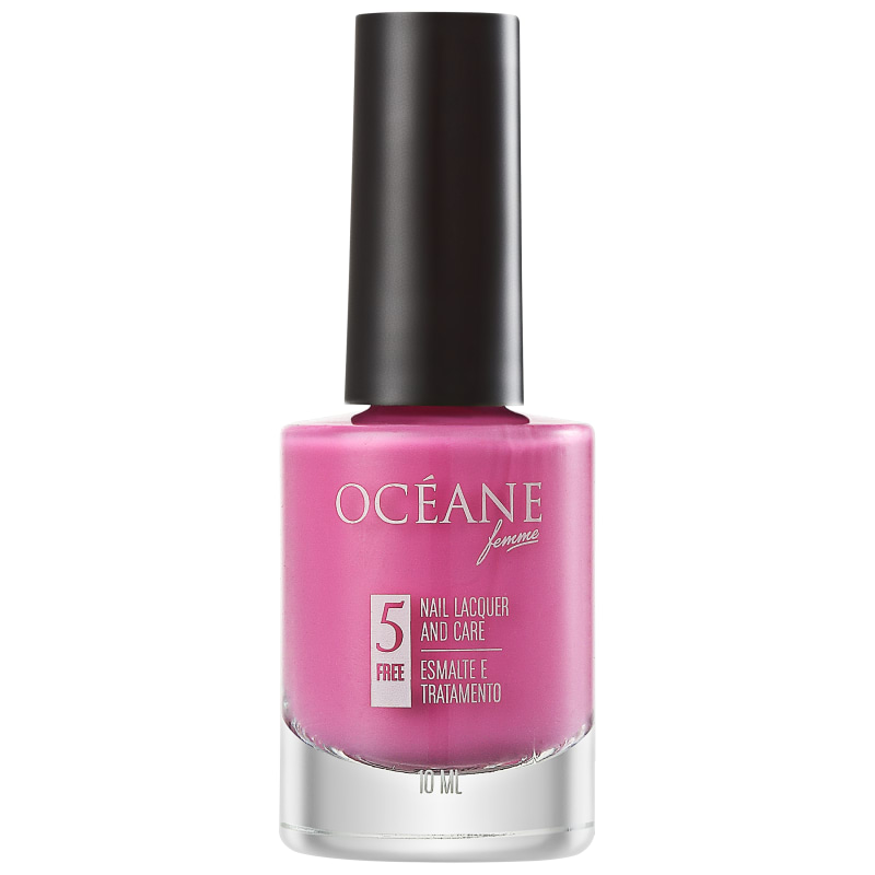 Océane Femme Nail Lacquer And Care Flamingo - Esmalte Cremoso 10ml