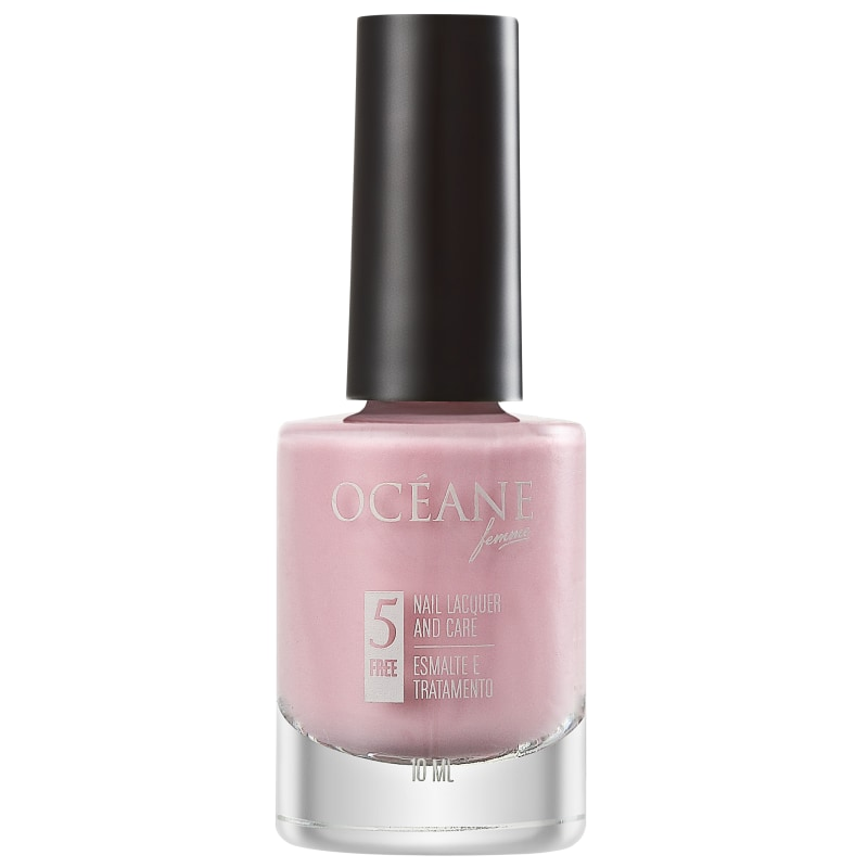 Océane Femme Nail Lacquer And Care Quickstep Coral - Esmalte Cremoso 10ml