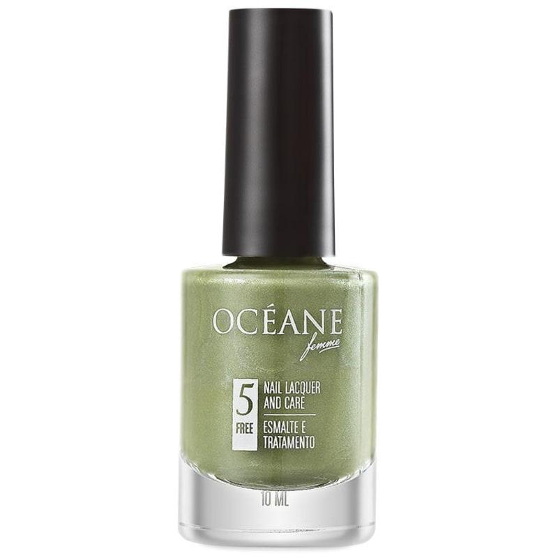 Océane Femme Nail Lacquer And Care Secret Garden - Esmalte Cintilante 10ml