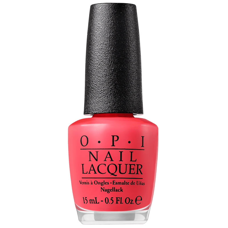 OPI Clássicos Red My Fortune Cookie - Esmalte Cremoso 15ml