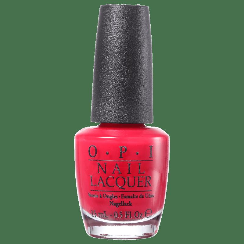 OPI Clássicos Too Hot Pink To Hold em - Esmalte Cremoso 15ml