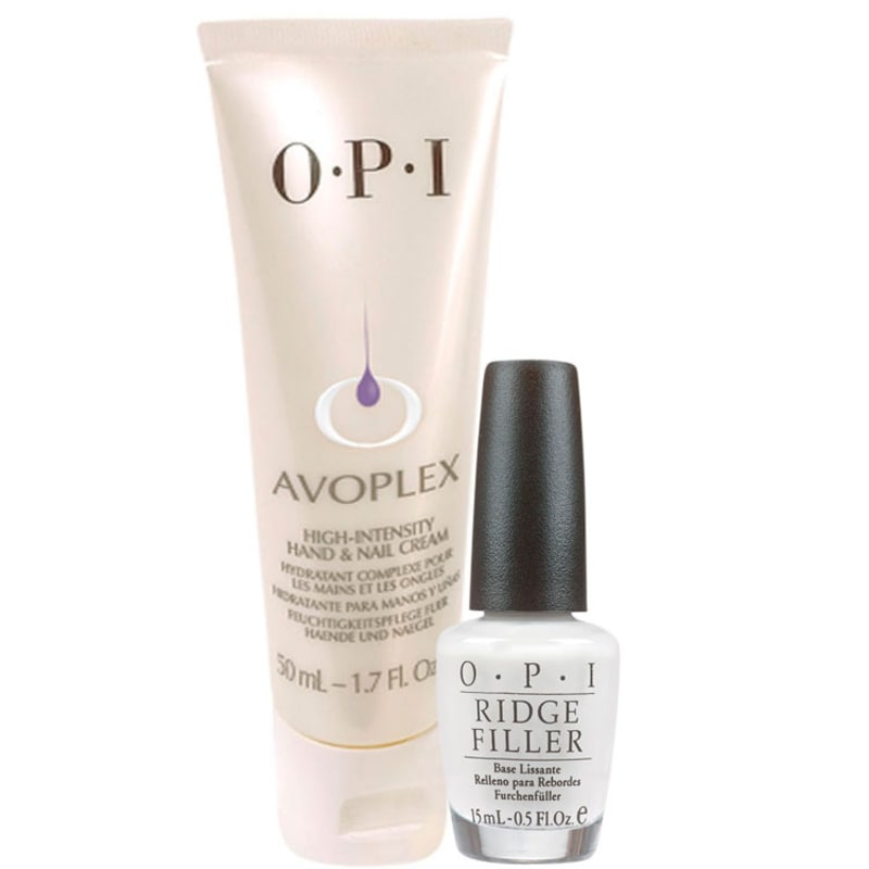 Kit OPI Creme Intensivo Avoplex + Ridge Filler - Creme Intensivo 50ml + Base Niveladora 15ml