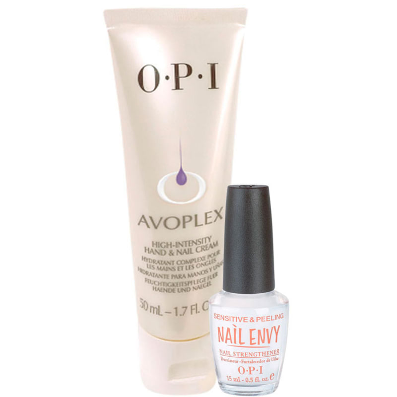 OPI Creme Intensivo Avoplex + Sensitive e Peeling Kit (2 Produtos)