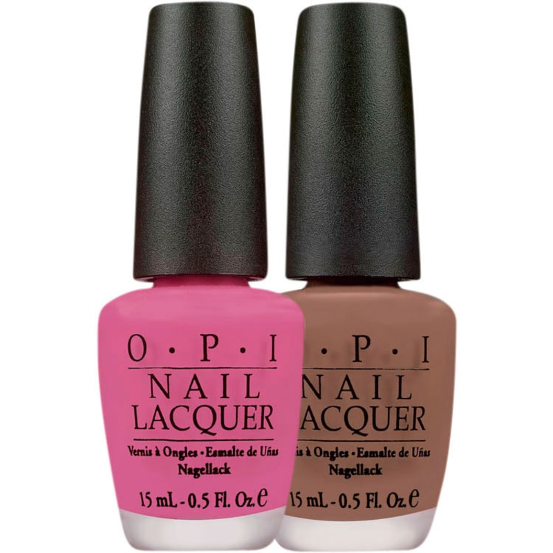 Kit OPI Clássicos Bright Pair Winter Grape Over de Esmaltes (2 produtos)