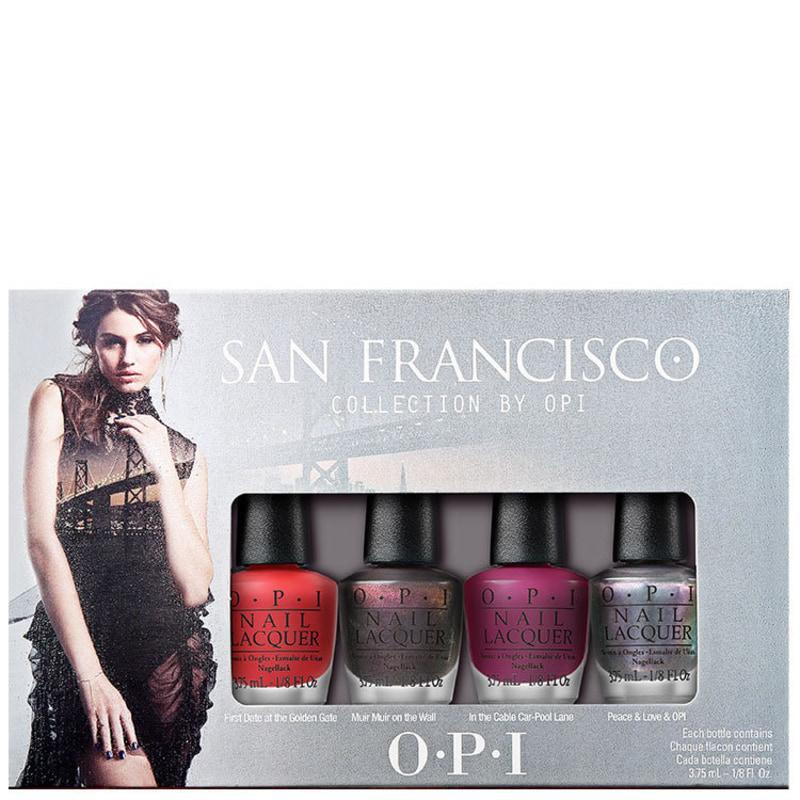 Kit OPI San Francisco Collection de Esmaltes (4 miniaturas)
