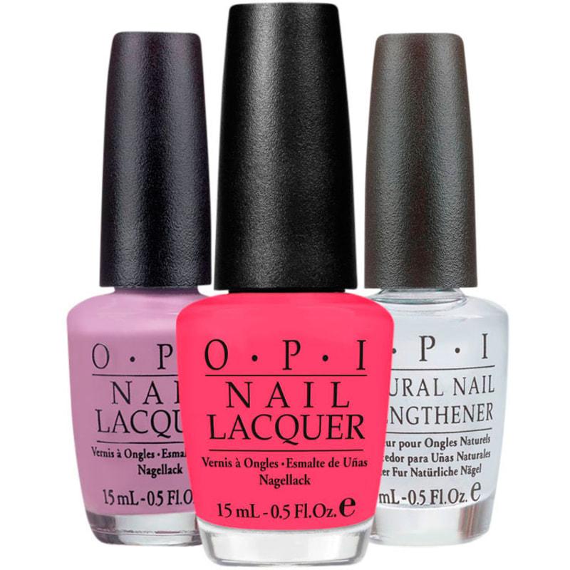 OPI Strong Lilac Gal Kit (3 Produtos)