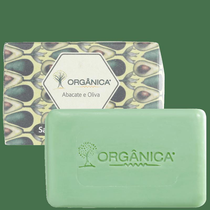 Orgânica Puro Vegetal Abacate & Oliva - Sabonete em Barra 90g