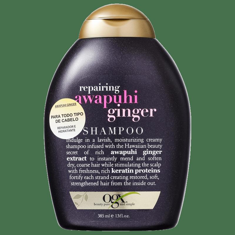 Organix Awapuhi Ginger - Shampoo sem Sulfato 385ml