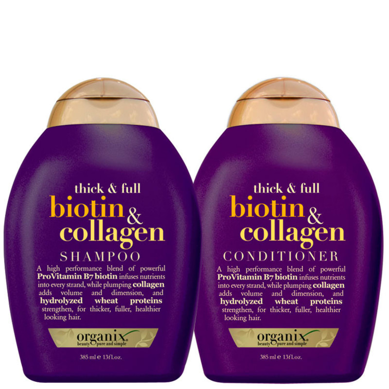 Organix Biotin & Collagen Duo Kit (2 Produtos)