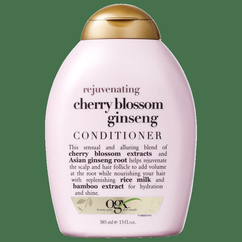 Organix Cherry Blossom Ginseng - Condicionador 385ml