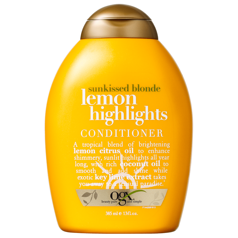 Organix Lemon Highlights Conditioner - Condicionador 385ml