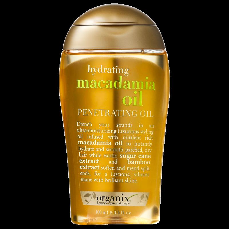 Organix Macadamia Oil Dry Styling Oil - Óleo Hidratante 100ml