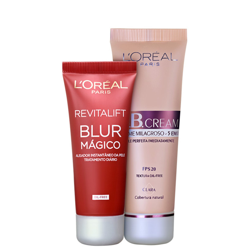 Kit L'Oréal Paris Perfect Skin Claro (2 produtos)