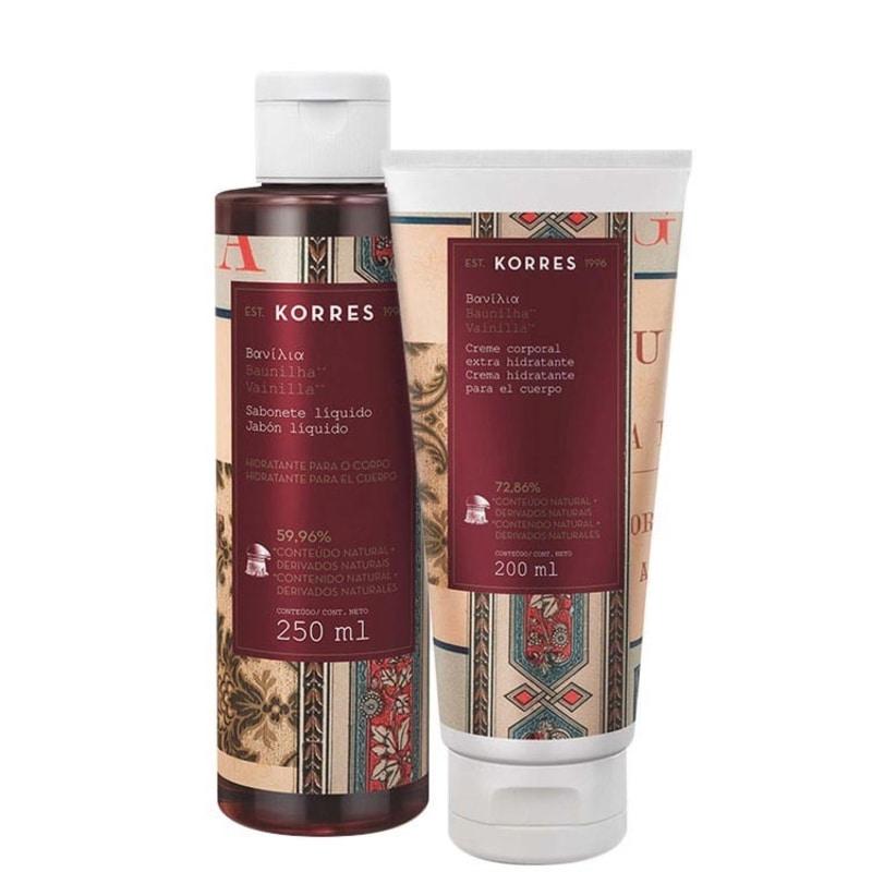 Kit Korres Baunilha Duo Care (2 produtos)