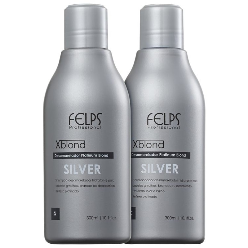 Felps Profissional XBlond Silver Duo Kit (2 Produtos)