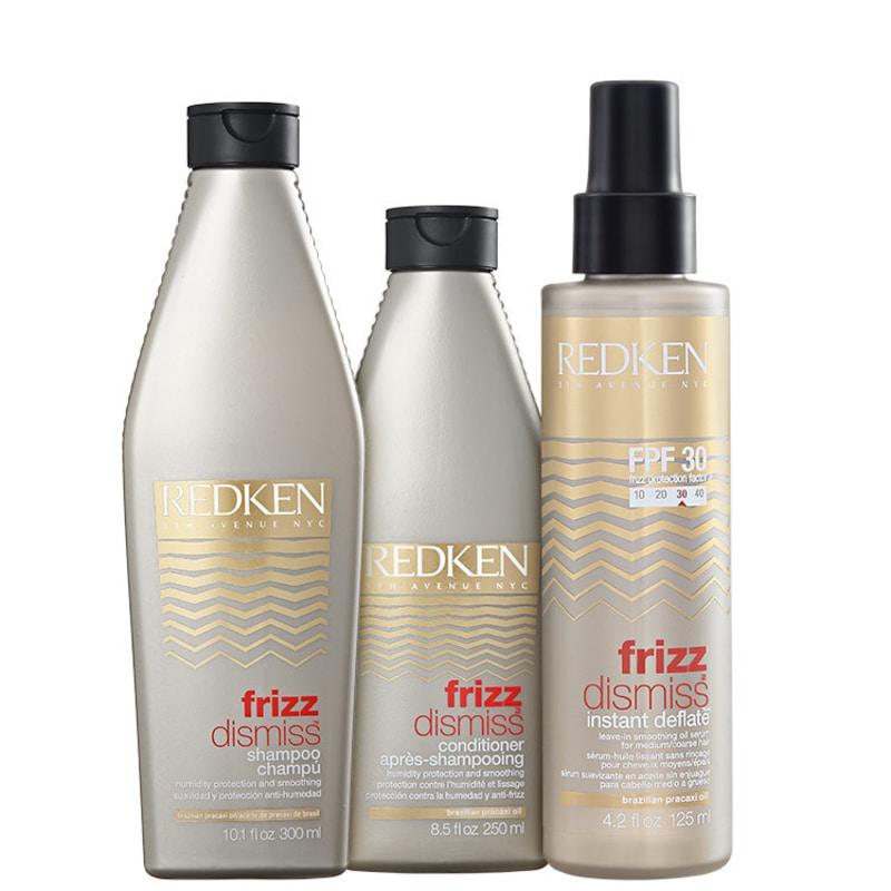 Redken Frizz Dismiss Instant Deflate FPF30 Kit (3 Produtos)