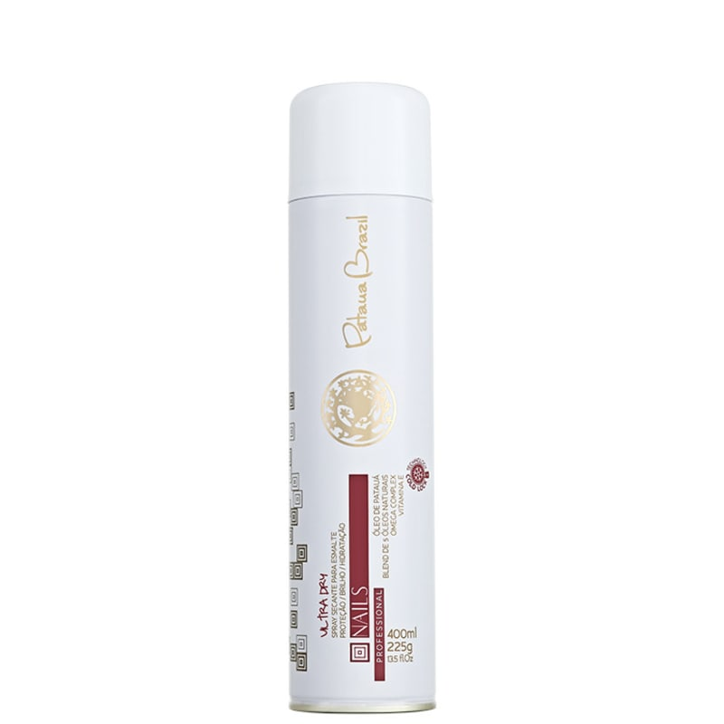 Pataua Brazil Nails Ultra Dry - Spray Secante para Esmalte 400ml