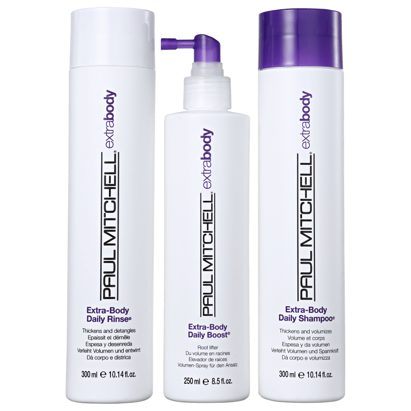 Paul Mitchell Extra-Body Boost Promo Kit (3 Produtos)