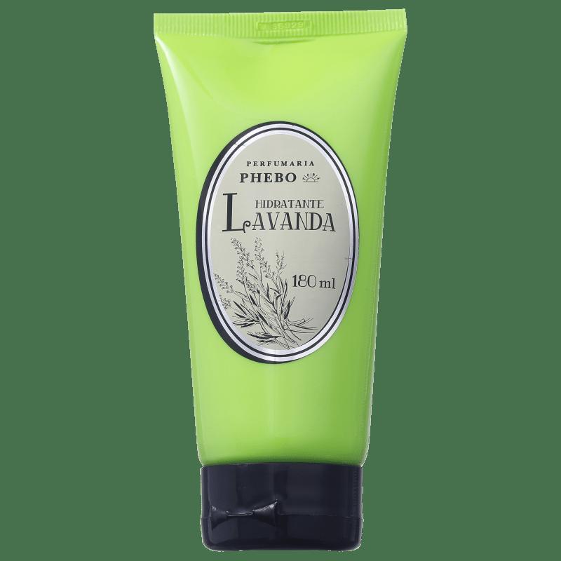 Perfumaria Phebo Hidratante Lavanda - Loção Hidratante Corporal 180ml