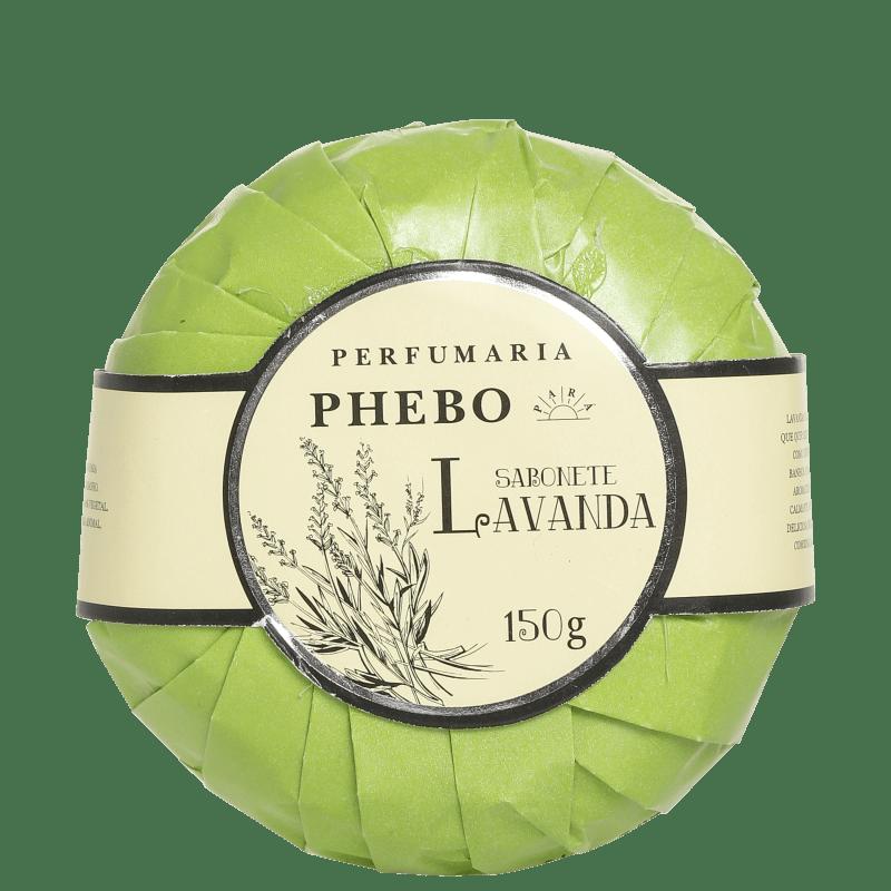Perfumaria Phebo Lavanda - Sabonete em Barra 150g