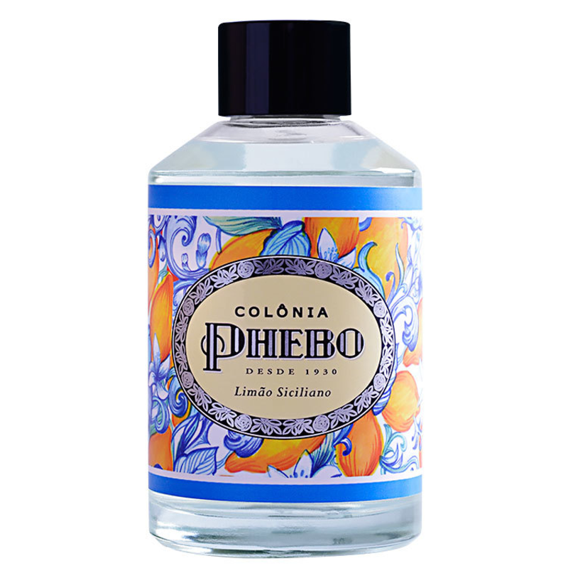 Limão Siciliano Phebo Eau de Cologne - Perfume Unissex 200ml