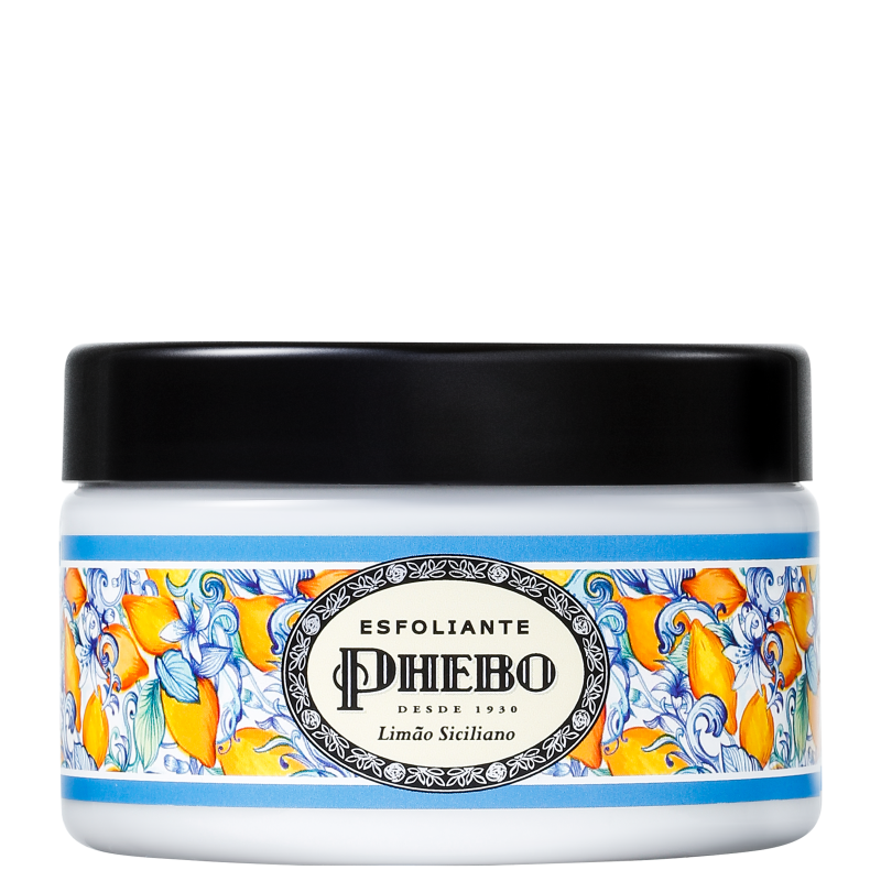 Phebo Mediterrâneo Limão Siciliano - Esfoliante Corporal 280g