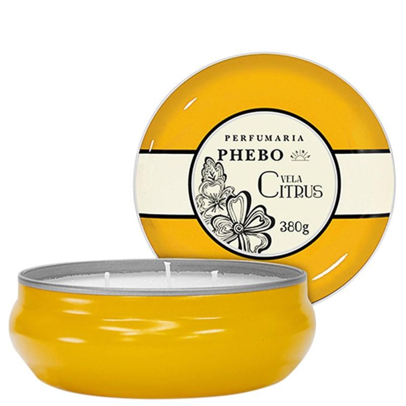 Águas de Phebo Citrus - Vela Perfumada 380g