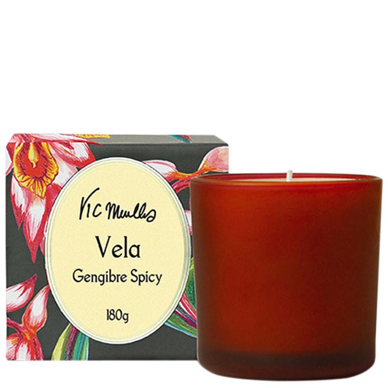 Phebo Vic Meirelles Gengibre Spicy - Vela Perfumada 180g