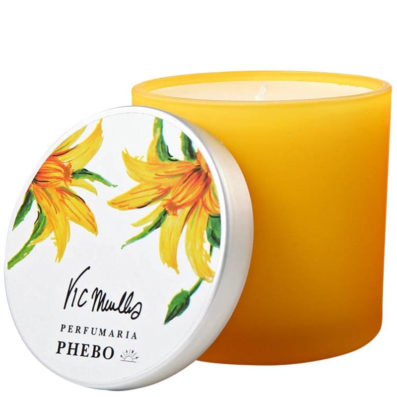 Phebo Vic Meirelles Flor do Tomate com Sândalo - Vela Perfumada 180g