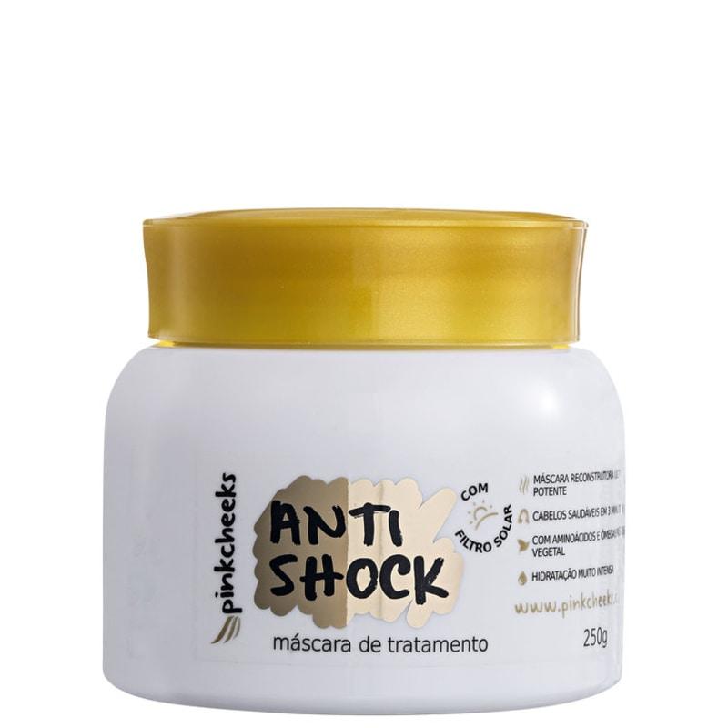 Pink Cheeks Anti Shock - Máscara de Tratamento 250g