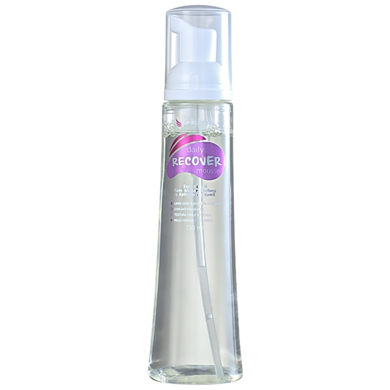 Pink Cheeks Daily Recover - Mousse Limpeza Facial 150ml