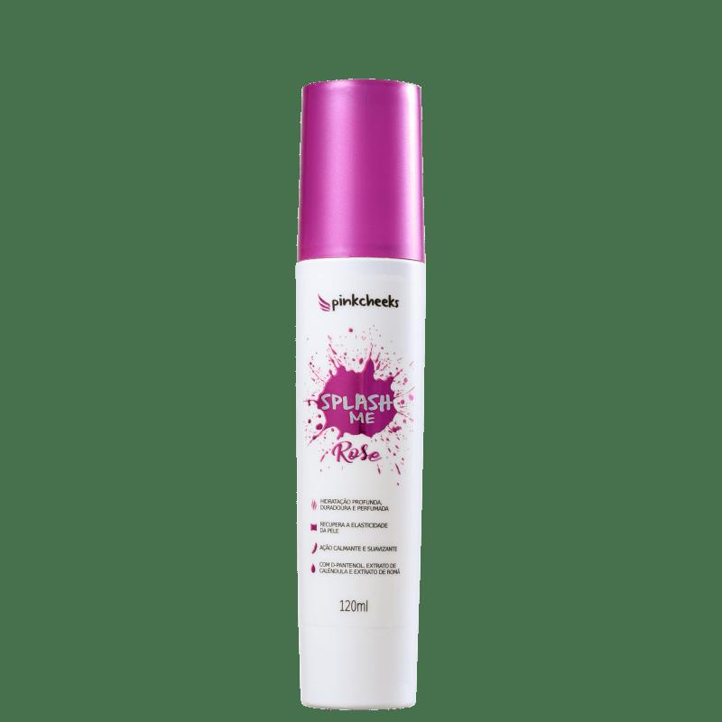 Pink Cheeks Splash Me Rose - Spray Hidratante Corporal 120ml